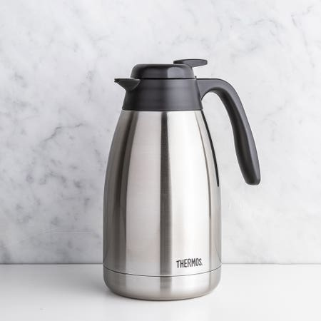 Thermos Push Button Carafe S S