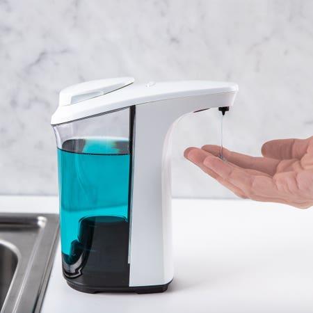 Smart Home Soap Dispenser Wht