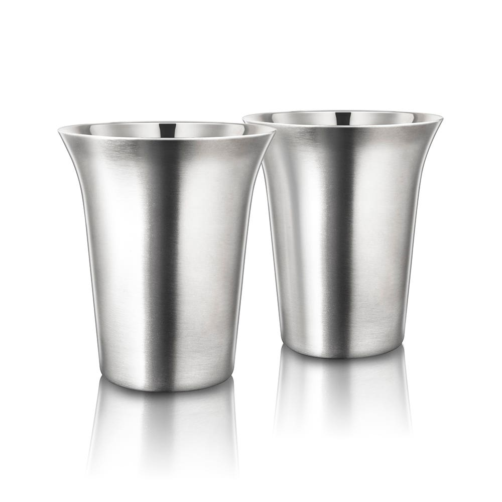 Final Touch Double Wall Coffee Cup - Set of 2 236ml