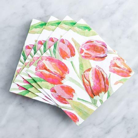Paper Napkin Tulip