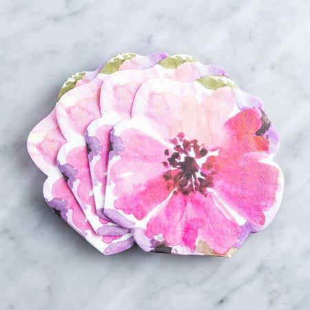 Paper Napkin Shaped Daisy