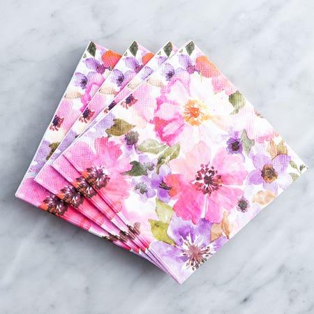 Paper Napkin Daisy