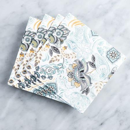 Paper Napkin Bloom