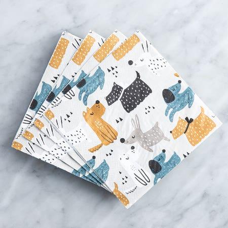 Paper Napkin Dogs