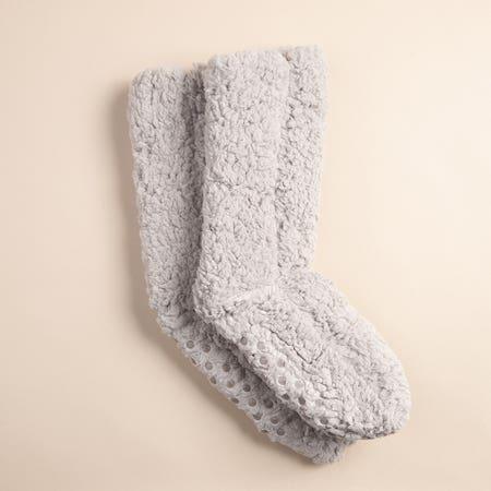 Kozie Socks Sherpa Grey
