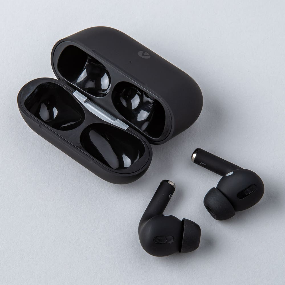 Accent Pro Wireless Airbuds with Charge Case (Black)