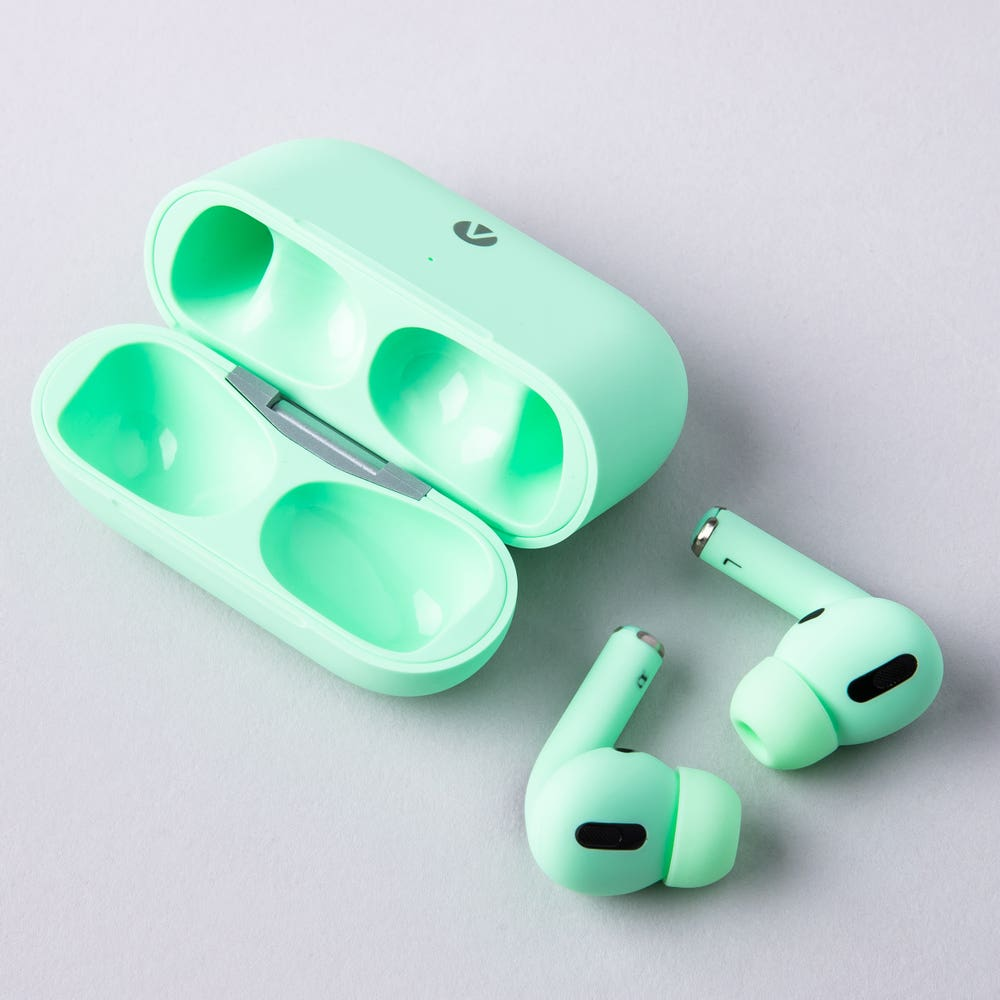 Accent Pro Wireless Airbuds with Charge Case (Green)