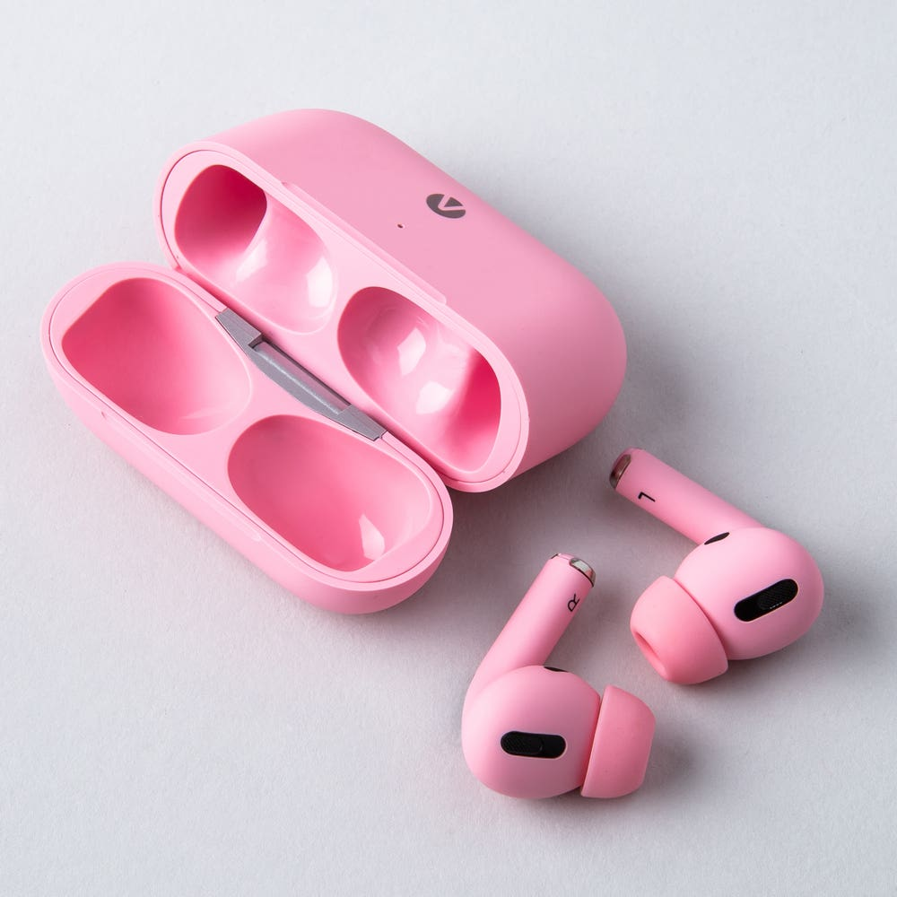 Accent Pro Wireless Airbuds with Charge Case (Pink)
