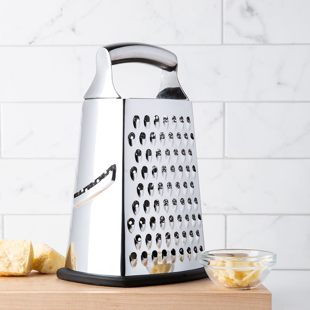KSP Cuisine Tower Grater 4-Sided Box (Stainless Steel)