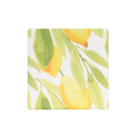 Ceramic Coaster S 6 Lemon