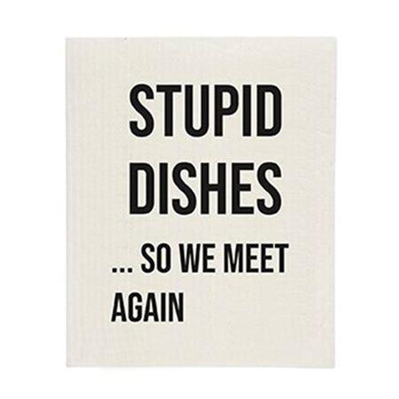 Sponge Cloth Stupid Dishes