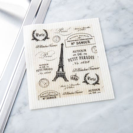 Sponge Cloth Paris Passport