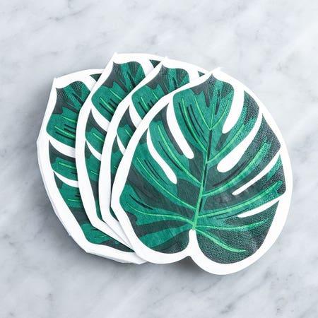 Paper Napkin Shaped Palm