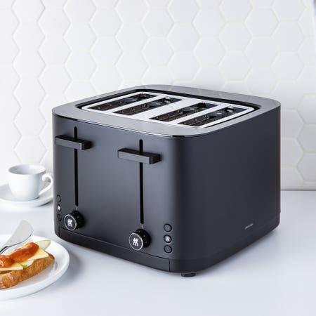 Enfinigy Toaster 4 Slice Blk