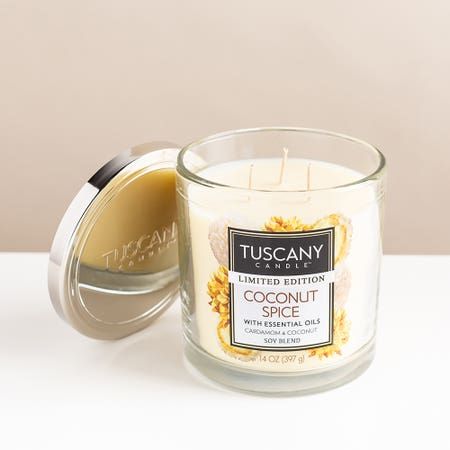 Tuscany Candle Coconut Spice