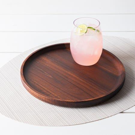 Acacia Serving Platter 10 Dia