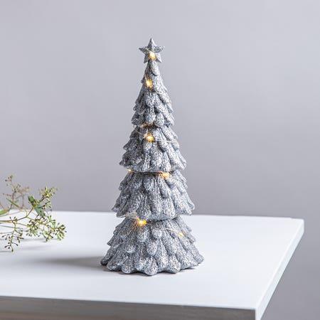 Xmas Led Glitter Tree Large