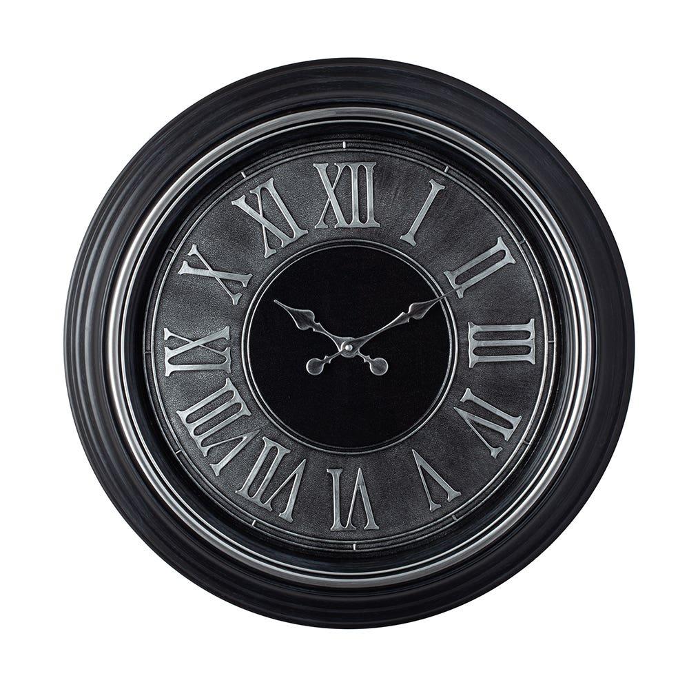 Wall Clock 23 Genoa Silver