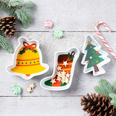 Xmas Decal Bowls S 3 Icons