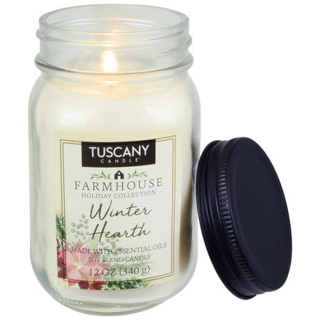 Tuscany Candle Winter Hearth