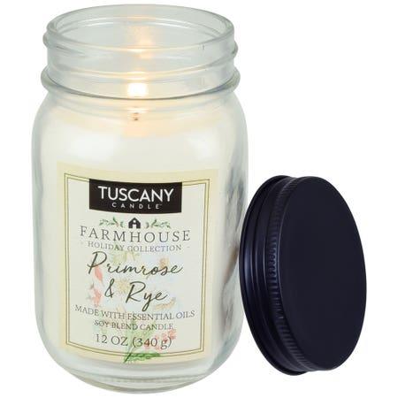 Tuscany Candle Primrose Rye