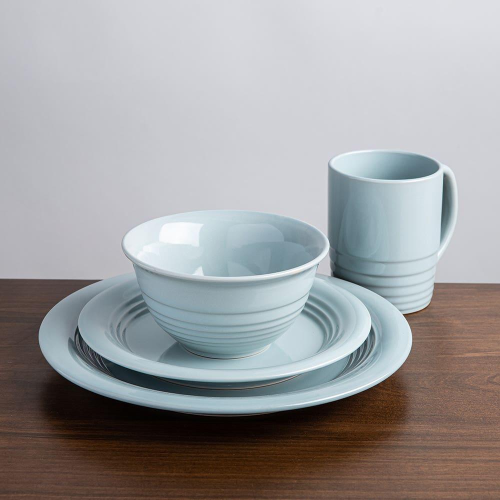 M Stewart Dinnerware S 16 Blue