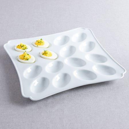 M Stewart Deviled Eggs Platter