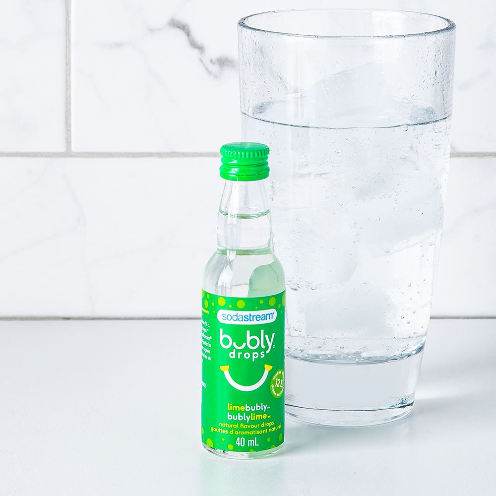 Sodastream bubly 'Lime' Natural Flavour Fruit Drops