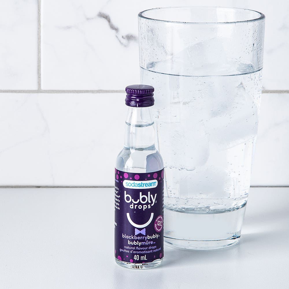 Sodastream bubly 'Blackberry' Natural Flavour Fruit Drops