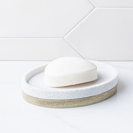 Hudson Soap Dish Lt Gry