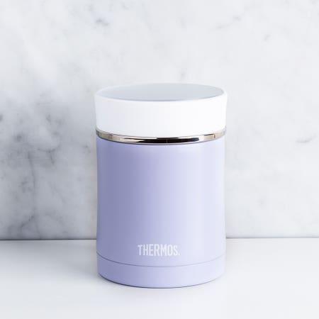 Premium Pastel Food Jar Lilac