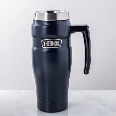 S King Travel Mug Hand Blue