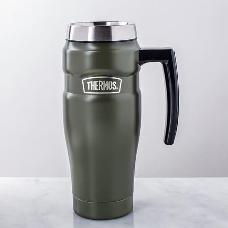 S King Travel Mug Hand Green