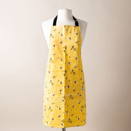 Now Printed Apron Bees