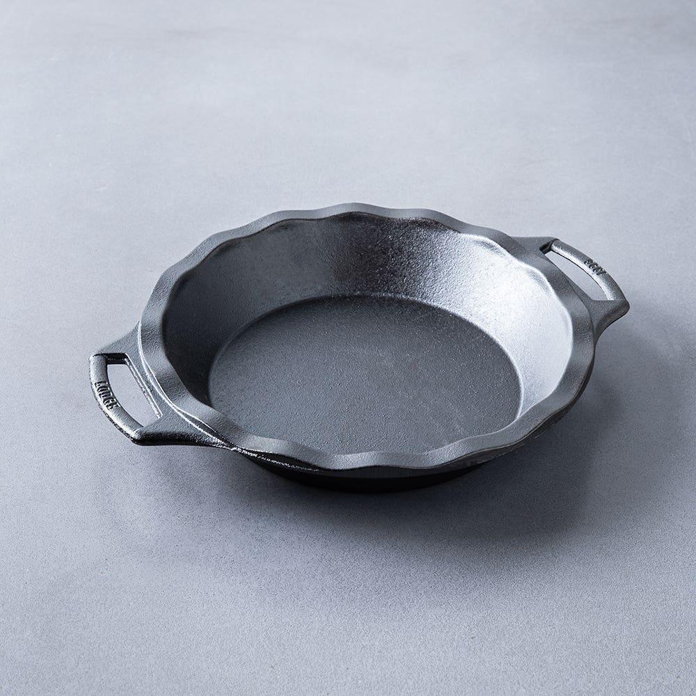 """Lodge Logic Bakeware 9"""" Pie Pan (Black)"""