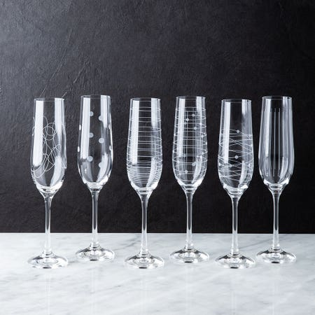 Elements Champagne Flute S 6