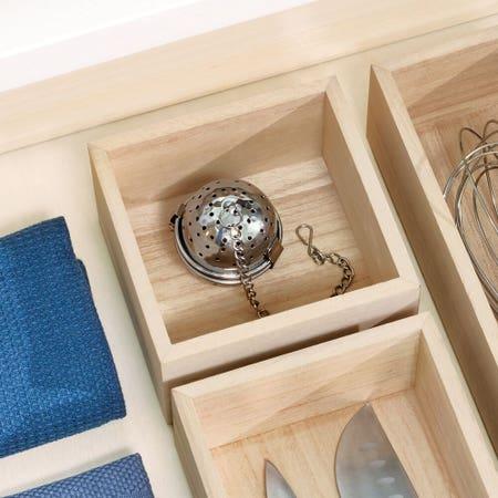 Wood Drawer Org 5X5x2 5