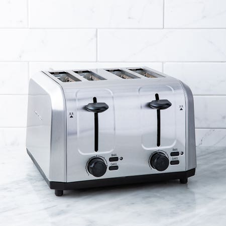 Hb Wide Mouth Toaster 4 Sl S S