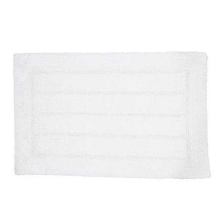Bathmat Reverse 20X32 White