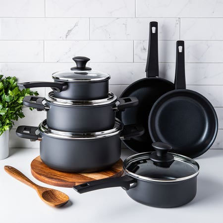 Softouch N S Cookware Set 10