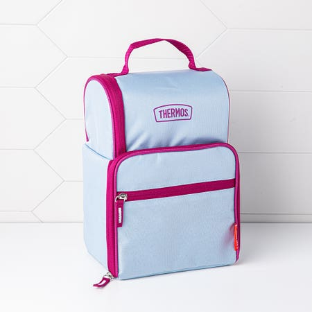 Thermos Dual Lunch Bag Blue