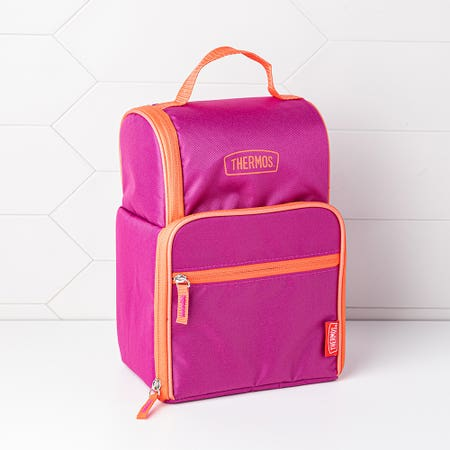 Thermos Dual Lunch Bag Magenta