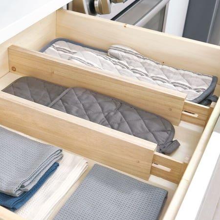 Wood Drawer Divider S 2 2 5