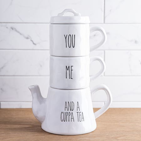 F House Mdrn Tea Set S 3