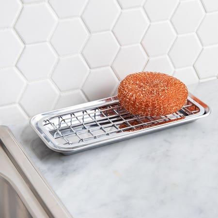 32473_iDesign_Sinkworks_Soap___Sponge_Dish