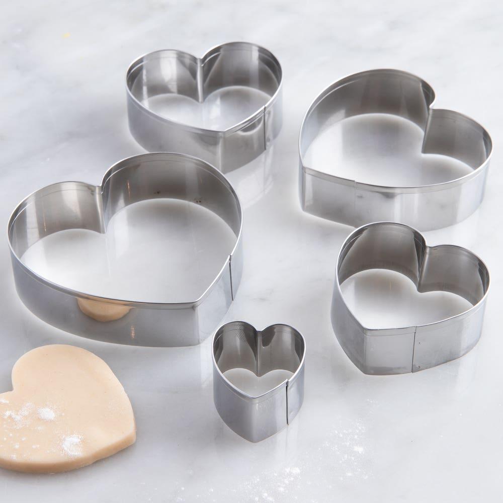 Fox Run 'Heart' Cookie Cutters - Set of 5