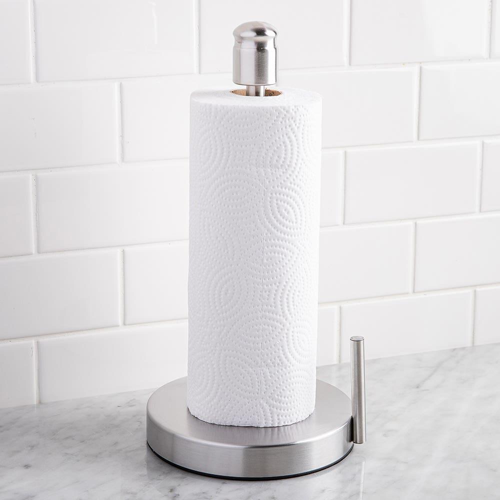 Kamenstein Upright Paper Towel Holder - Stainless Steel