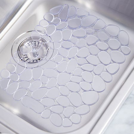 52358_iDesign_Pebble_Sink_Mat___Clear