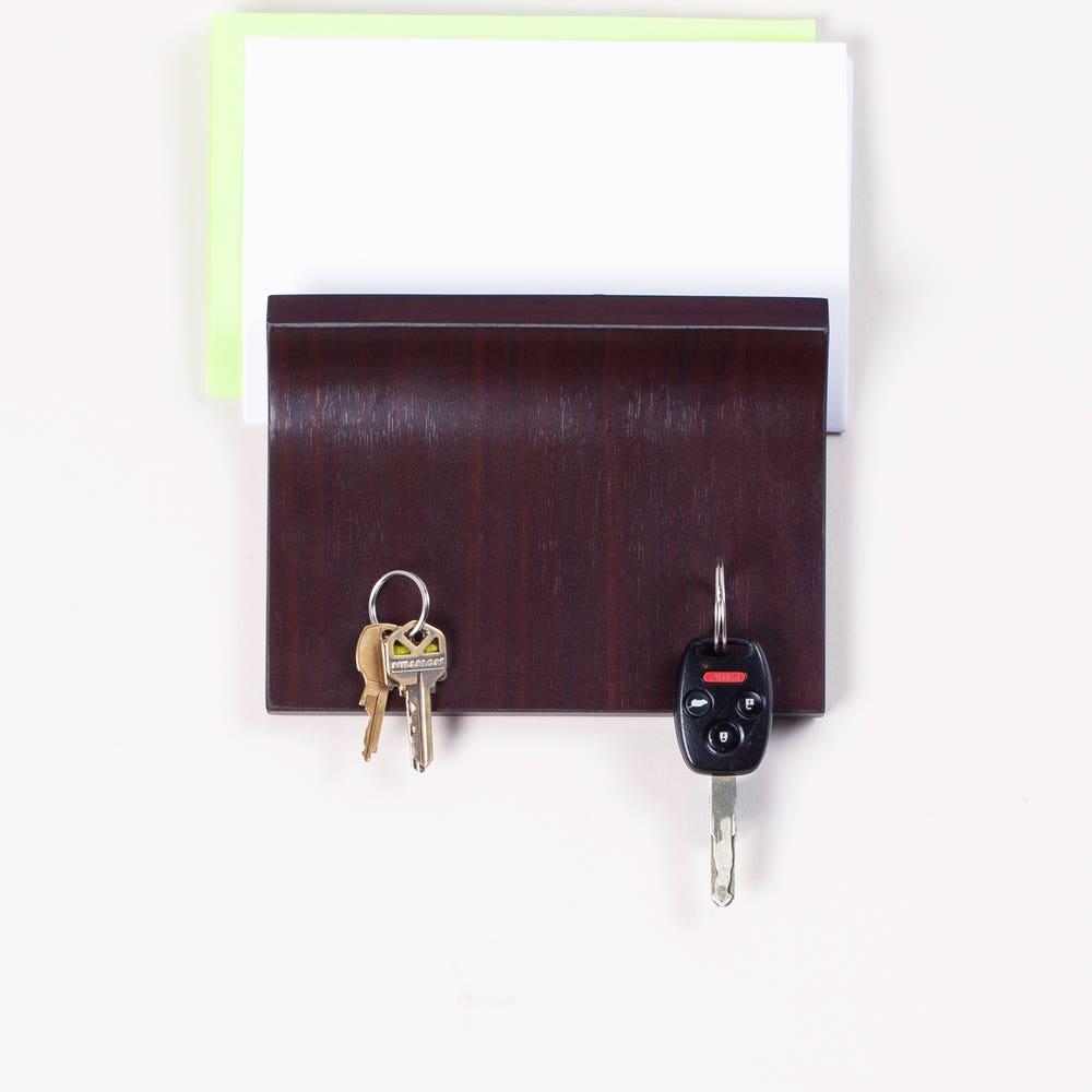 Umbra Magnetter Key Panel & Letter Holder - Espresso