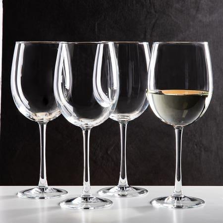 Lum Cachet Wht Wine Glass S 4